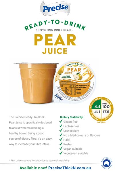 Pear Juice - Supporting Inner Health Flyer