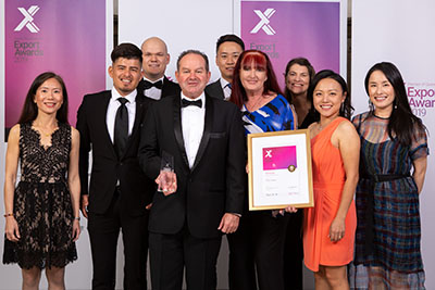 Trisco Foods Named Premier of Queensland's Exporter of the Year 2019