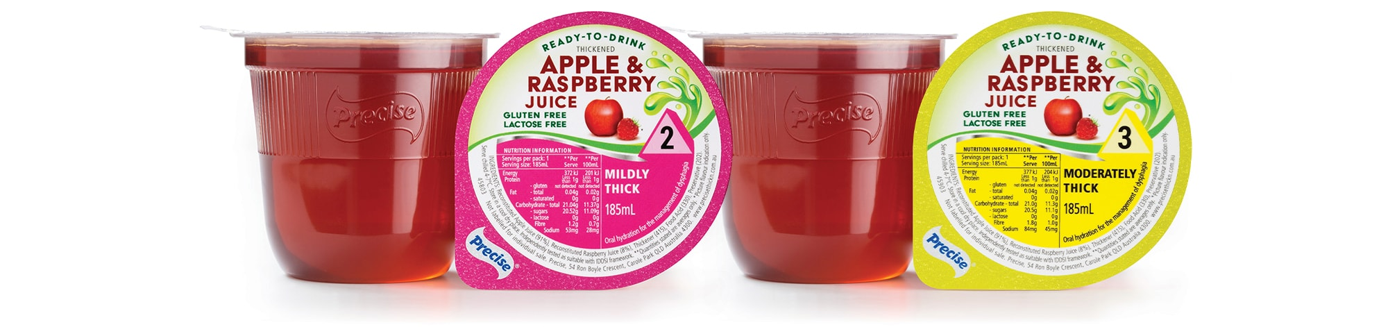 RTD Apple and Raspberry Juice