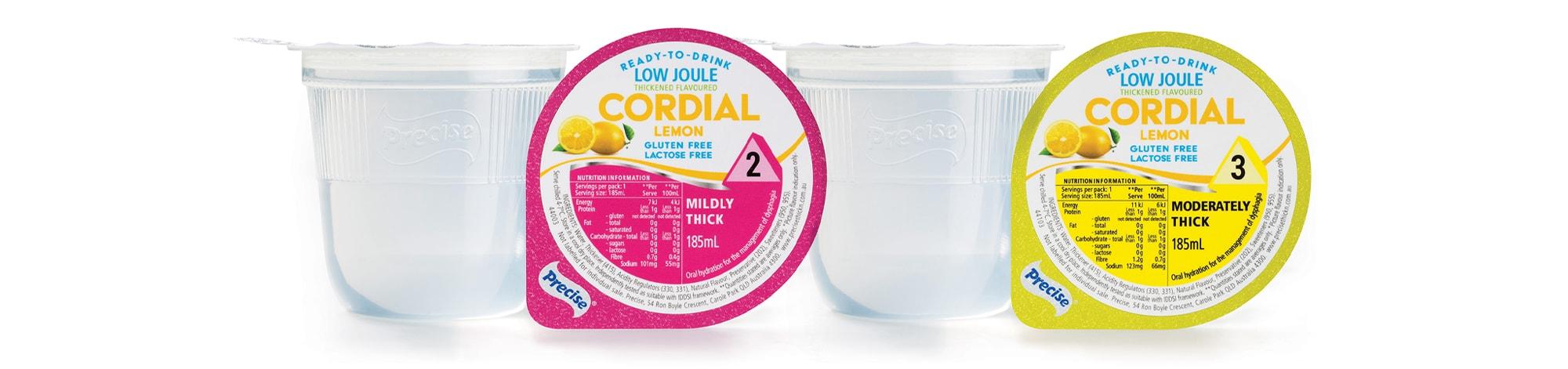 RTD Low Joule Lemon Cordial