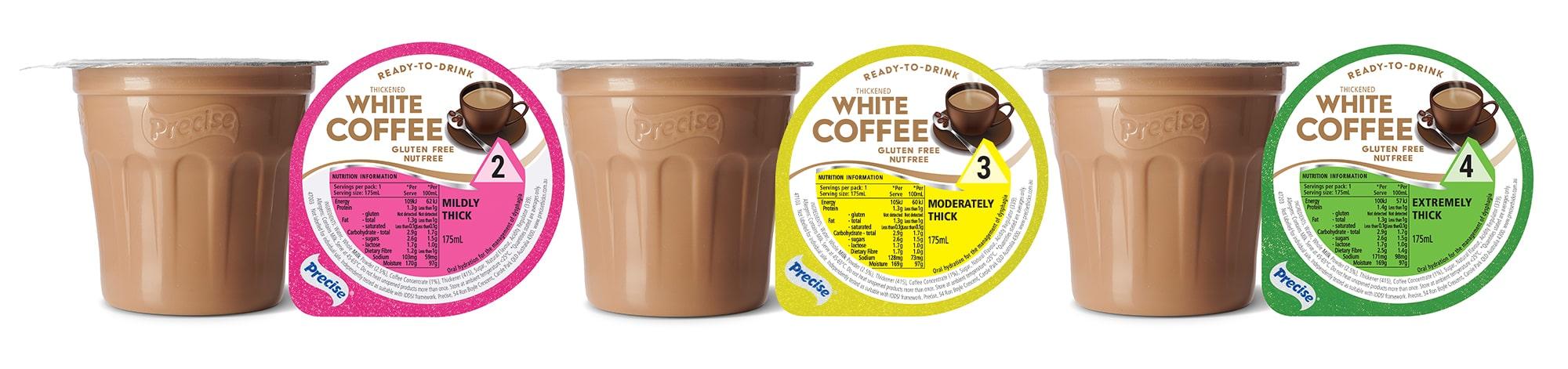 RTD White Coffee
