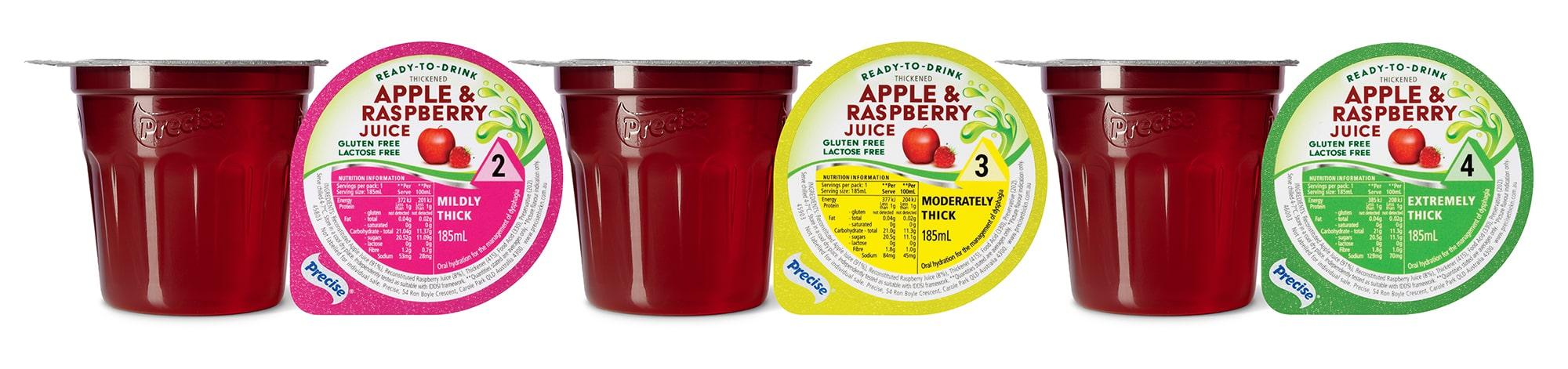 RTD Apple and Raspberry Juice